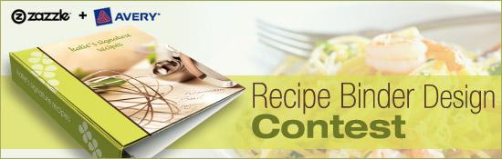 zazzle avery recipe binder contest have you entered zazzle blog