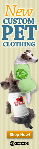 New Custom Pet Clothing at Zazzle