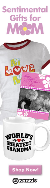 Sentimental Gifts for MOM on Zazzle