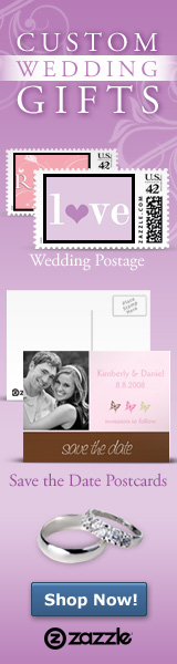 Custom Wedding Gifts with Zazzle