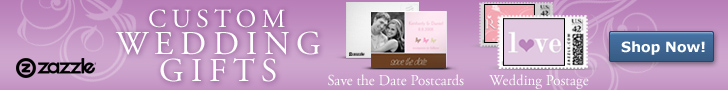 Shop for custom wedding gifts at Zazzle.com