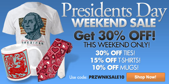 Presidents Day Weekend Sale - Get 30% Off!  Use code: PRZWNKSALE10