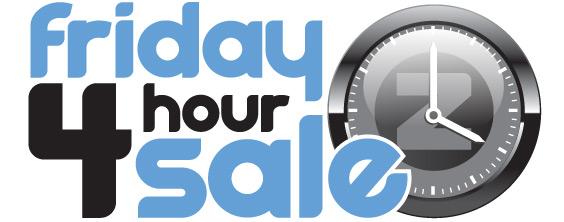 Four-hour sale!