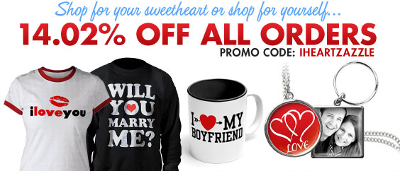 Shop For Yourself or Shop For Your Sweetheart With 14.02% Off!