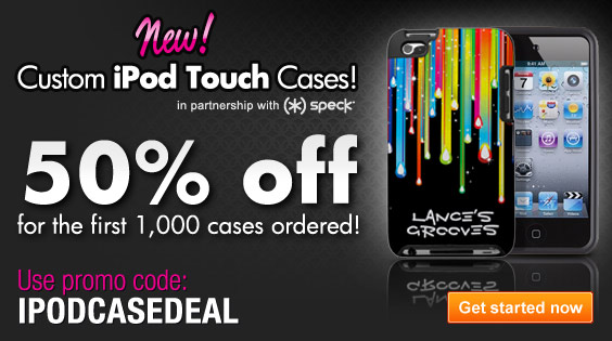 [New Prod.] Get Custom iPod Cases at Zazzle!