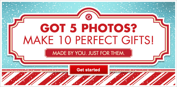 Got 5 photos? Make 10 perfect Christmas or holiday gifts!