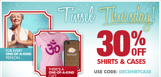 Today Only! 30% Off Shirts & Cases!
