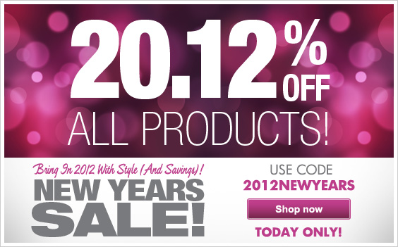 20.12% Off All Products!