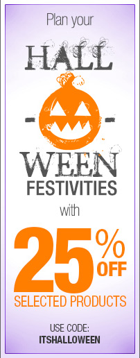 Boo!  25% off great Zazzle products