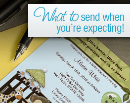What to send when you're expecting!