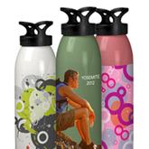 Make a splash with a custom water bottle