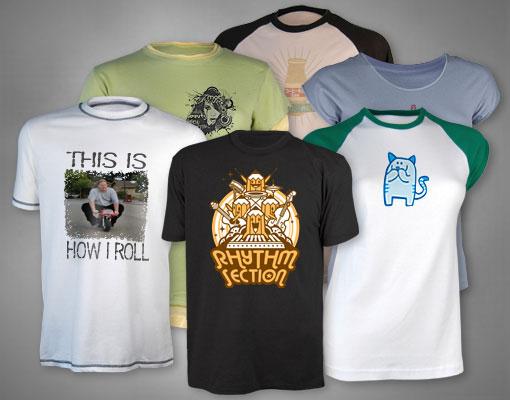 Custom Tshirts. Ref: zazzle.com