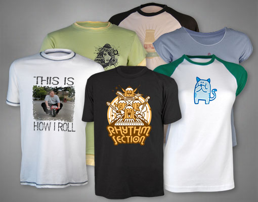 Custom T-Shirts, Custom Shirts, Personalized T-Shirts, Design your own.