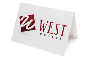 Business Identity Folded Cards