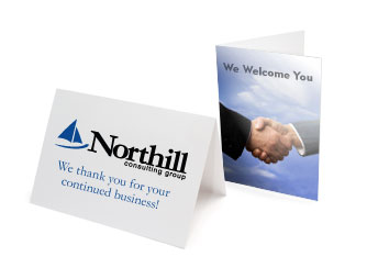 Business Identity Note Cards