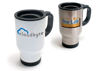 Event Merchandise Travel Mugs