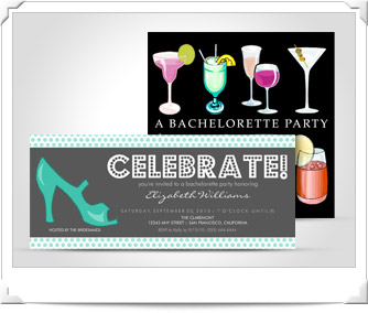 Personalized Bachelorette Party Invitations & Gifts
