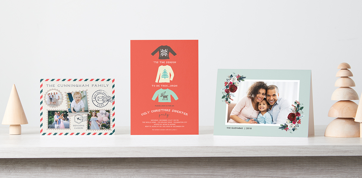 Shop thousands of christmas card designs, made-to-order with love.