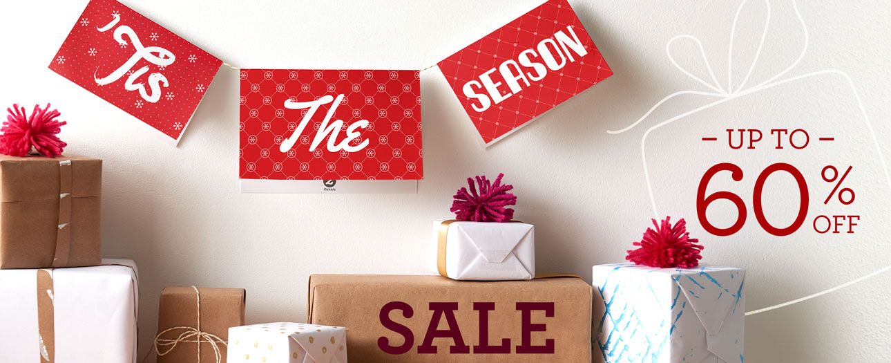 Tis the Season! Save up to 60%...