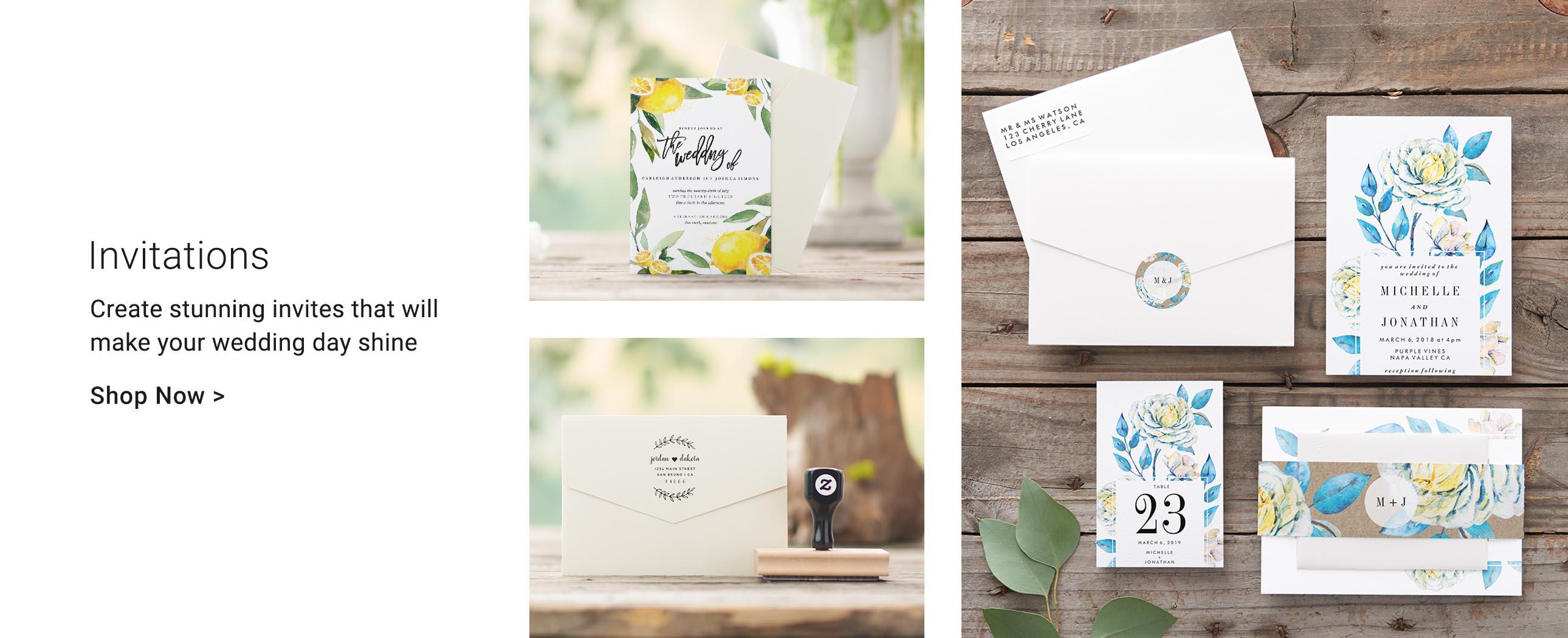 Personalized Wedding Gifts & Wedding Supplies | Zazzle