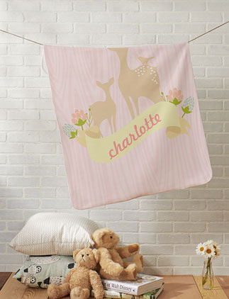 Girly <br />Baby Blankets