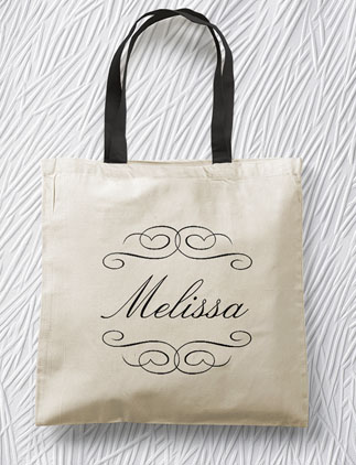 Personalized <br />Tote Bags