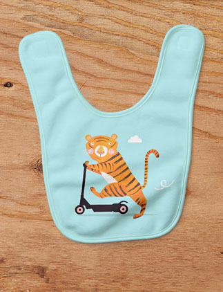Adorable <br />Animal Bibs