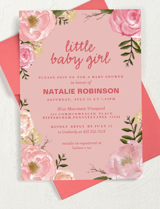 Baby Showers <br />for Girls