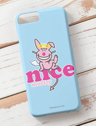 It's Happy Bunny iPhone 6 Cases