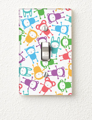 Kid&#39;s Light <br />Switch Covers