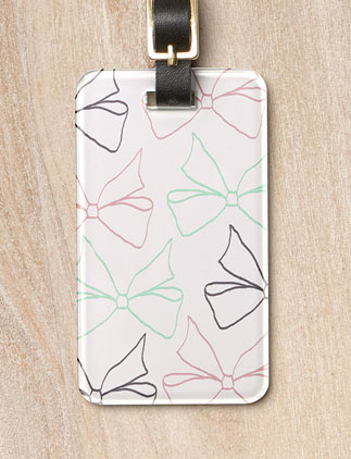 Girly <br />Luggage Tags