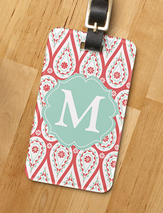 Monogram <br />Luggage Tags