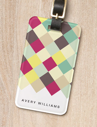 Customizable <br />Luggage Tags