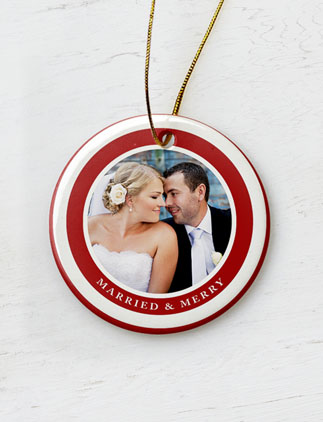 Married & Merry Ornaments