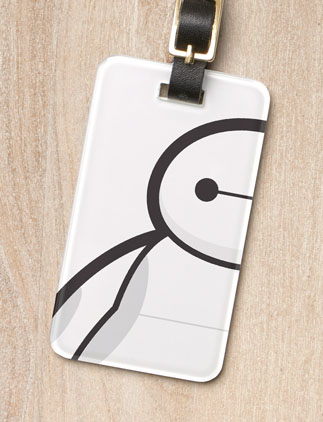 Big Hero Luggage Tags
