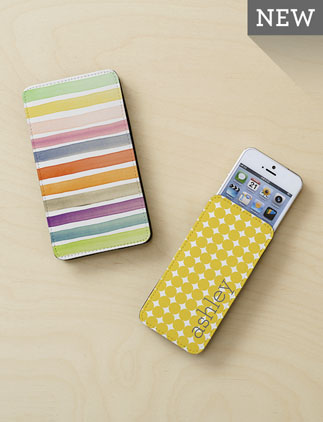 Personalized <br />Phone Pouches