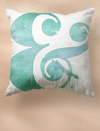 Ampersand Pillows