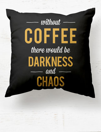 Coffee Break Pillows