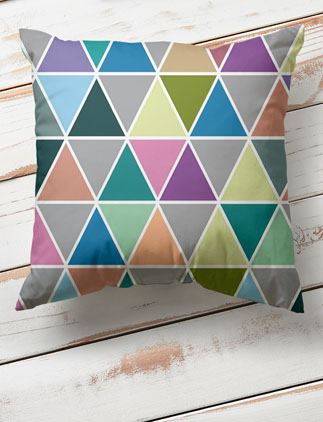 Geometric <br />Throw Pillows