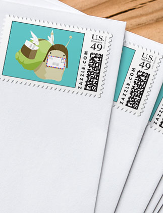 Postage for <br />Snail Mail