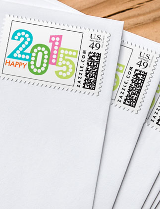 Postage for<br /> New Year's