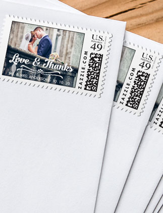 Browse Zazzle's selection of Wedding Postage.