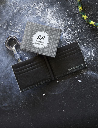 Monogram <br />Tyvek Wallets
