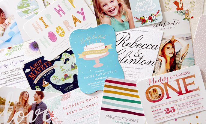 Invitations & Flat Cards