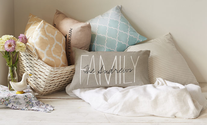 Pillows for Fall Nesting