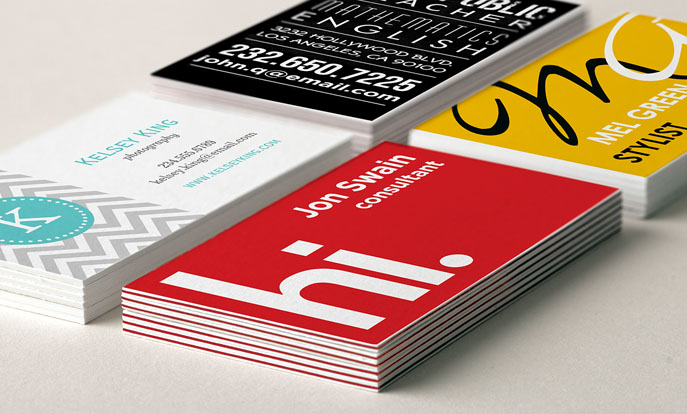 Custom business cards make personalized business cards for How to make business cards online