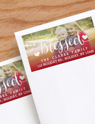 Holiday <br />Address Labels