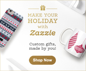 Shop Holiday Gifts on Zazzle.com