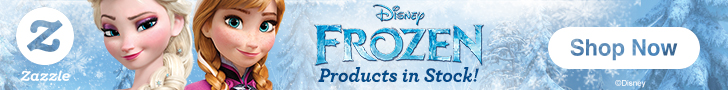 Ad for Disney's Frozen products