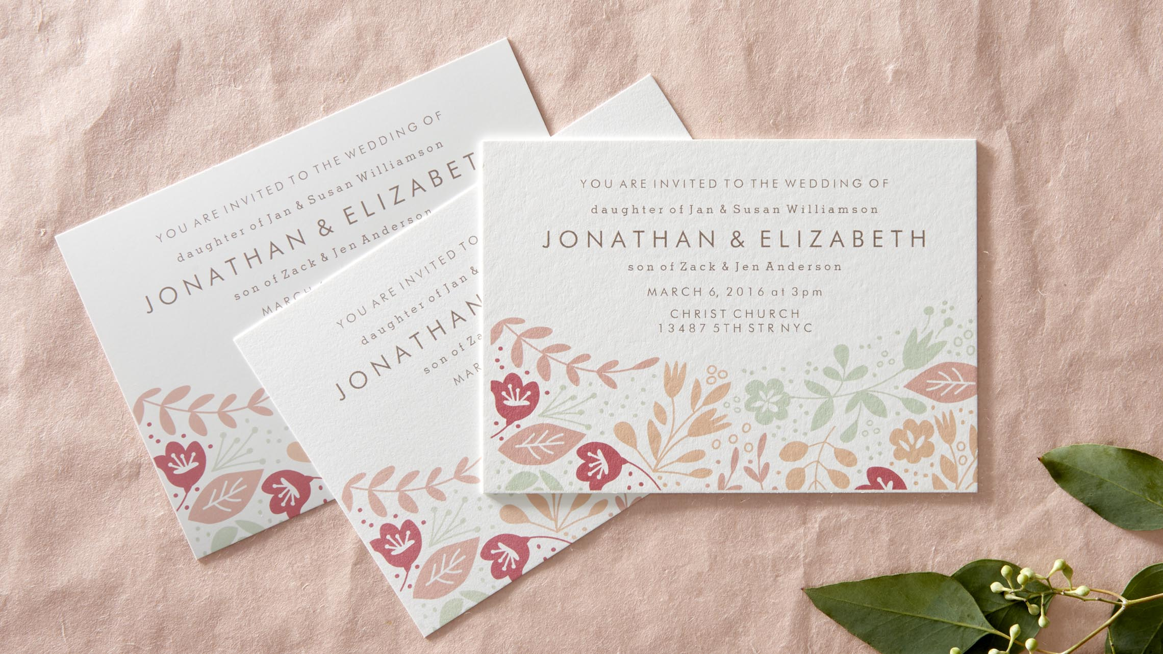 types of invitation paper The various types of wedding invitations we've put together a guide to the various types of wedding invitation to help you pick the right one for your wedding.
